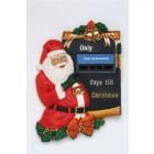 Weihnachtsrelief mit Santa Claus und Countdownfunktion
