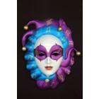 Maske Gianduia Blau-Lila