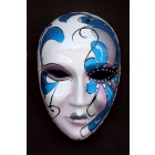 Maske Pantalone Blau Groß