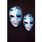 Maske Pantalone Blau Klein