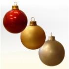überdeminsionale Weihnachtskugel klein