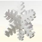 Schneeflocke 3D