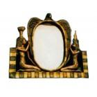 ägyptischer Spiegel zum hinstellen gold
