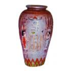 ägyptische Vase rosa
