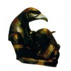 Anubis tröstet Ägypterin Büste