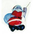 Weihnachtsmann am Seil klein