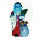 Weihnachtsmann klein mit viel Spielzeug