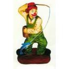 kleiner Clown als Fischer