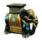 orientalischer Elefant mit Ablage