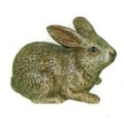 brauner liegender Hase Ostern