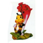kleine Biene an Blüte zum Bepflanzen Variante 3