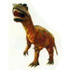 riesiger fleischfressender Dinosaurier mit offenem Maul
