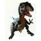 kleiner fleischfressender Dino greift an