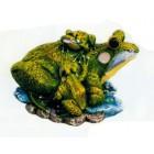 Frosch mit Kindern