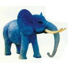 Großer Elefant Rüssel unten