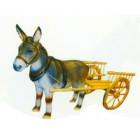 Esel mit Wagen