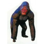 großer dunkelbrauner Gorilla Affe