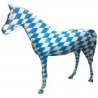 Pferd bayrische Raute