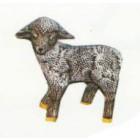 kleines stehendes Schaf schwarz Variante 2