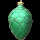 Weihnachtszapfen Grün