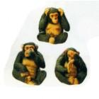 3 Affen Nichts sehen hören sprechen