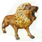 kleiner brüllender Löwe antik
