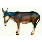 großer brauner Esel