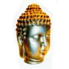 goldener Buddhakopf