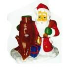Weihnachtsmann sitzend als Tannenbaumständer