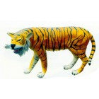 lebensgroßer Tiger gestreift