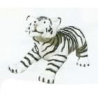 kleiner weißer Tiger spielend Variante 2