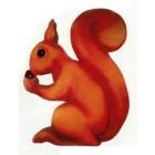 XXXL Eichhörnchen isst Nuss