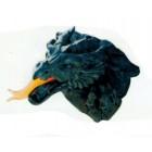Feuer-spukender Drachenkopf