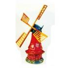 kleine rustikale Windmühle