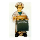 Bäckersjunge mit Spezialitätenkorb