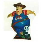 Dicker Gärtner namens MR BIG