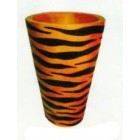 Vase im Tigerlook