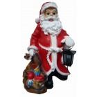 kleiner Weihnachtsmann mit Laterne