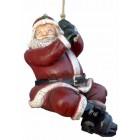 kleiner Weihnachtsmann hängend