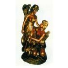 Mann und Frau antik in gold