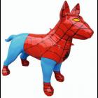 Hund Bullterrier Spiderman Kampfhund