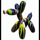 Ballonhund mit Farbverlauf