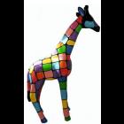 Giraffe bunt