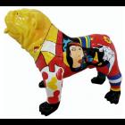 Hund Bulldogge Picasso