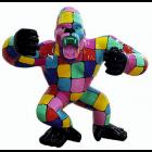 Gorilla aggro bunt gefleckt groß