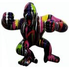 Gorilla aggro schwarz mit Farbverlauf groß
