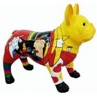 Hund französische Bulldogge Picasso