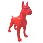 Roter Boxer Hund XXL