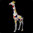 Giraffe künstlerisch bemalt 115cm