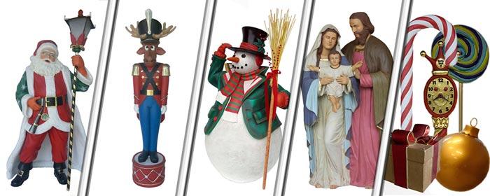 Viele tolle XXL Weihnachtsfiguren und Weihnachtsdekoration hier in unserem Shop